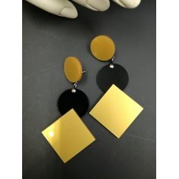 Rhombus 1+ earrings