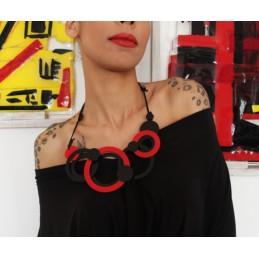 Multicircles medium necklace